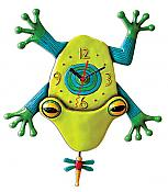 Big Croak Frog Pendulum Clock