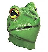 Deluxe Latex Frog Costume Mask