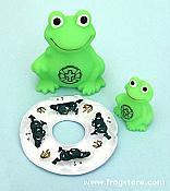 F.R.O.G. Funtime Frog Bath Toys