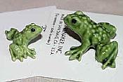 Porcelain Miniature: Papa Frog