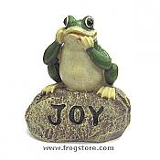 Little Garden Frog: JOY