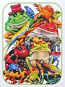 Frog Business Puzzle (1000 piece)