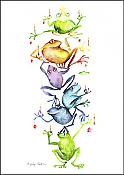 """Frog-A-Labra"" Boxed Holiday Cards (10)"