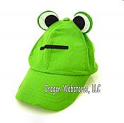 Green Frog-Eyes Baseball Cap